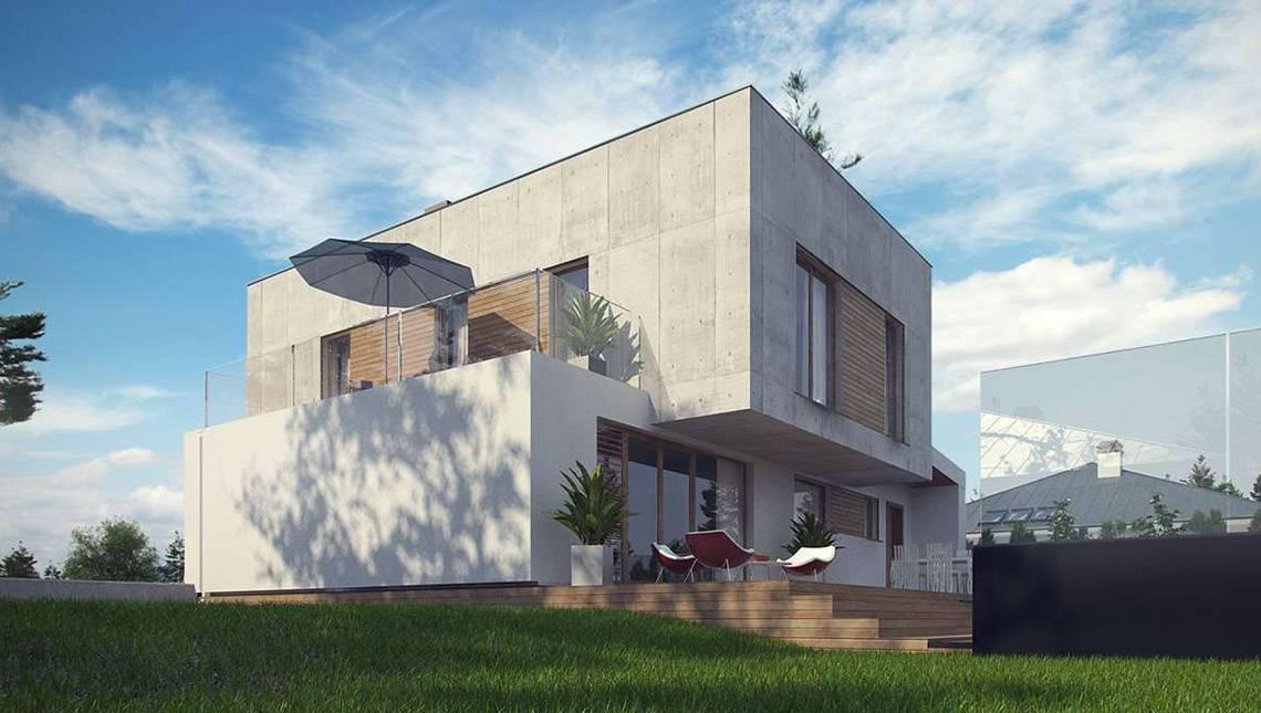 Сучасний 2-поверховий будинок в ультрасучасному стилі