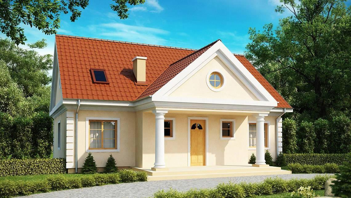Проект мансардного будинку 10 на 12