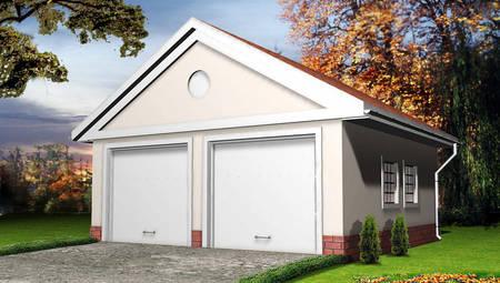 Проект гаража на 2 автомобіля