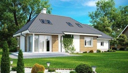Проект заміського котеджу на 200 m²