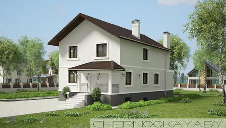 Проект будинку з басейном, сауною і тренажерним залом