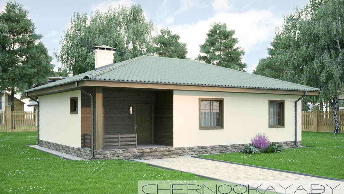 Проект зручного невеликого сільського будинку