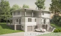 Проект зручного просторого будинку з гаражем