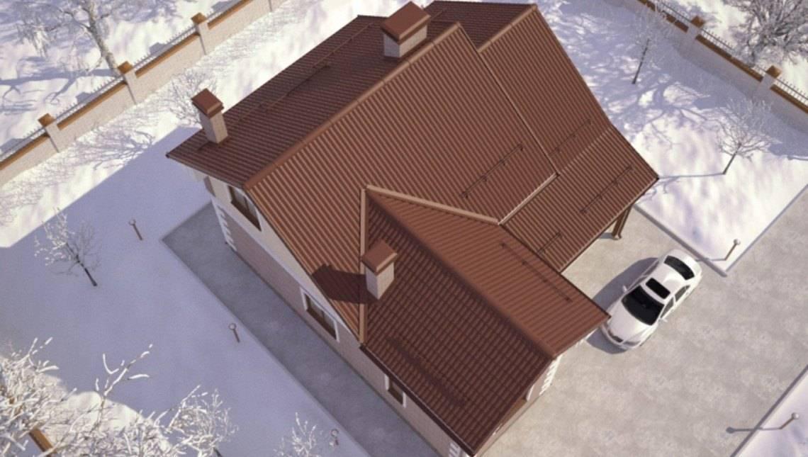 Проект невеликого 2 х поверхового практичного будинку