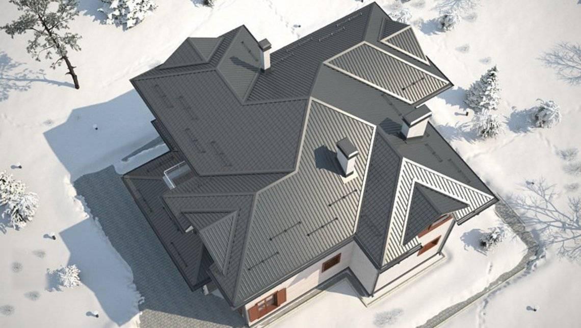 Архітектурний проект простого класичного житлового будинку