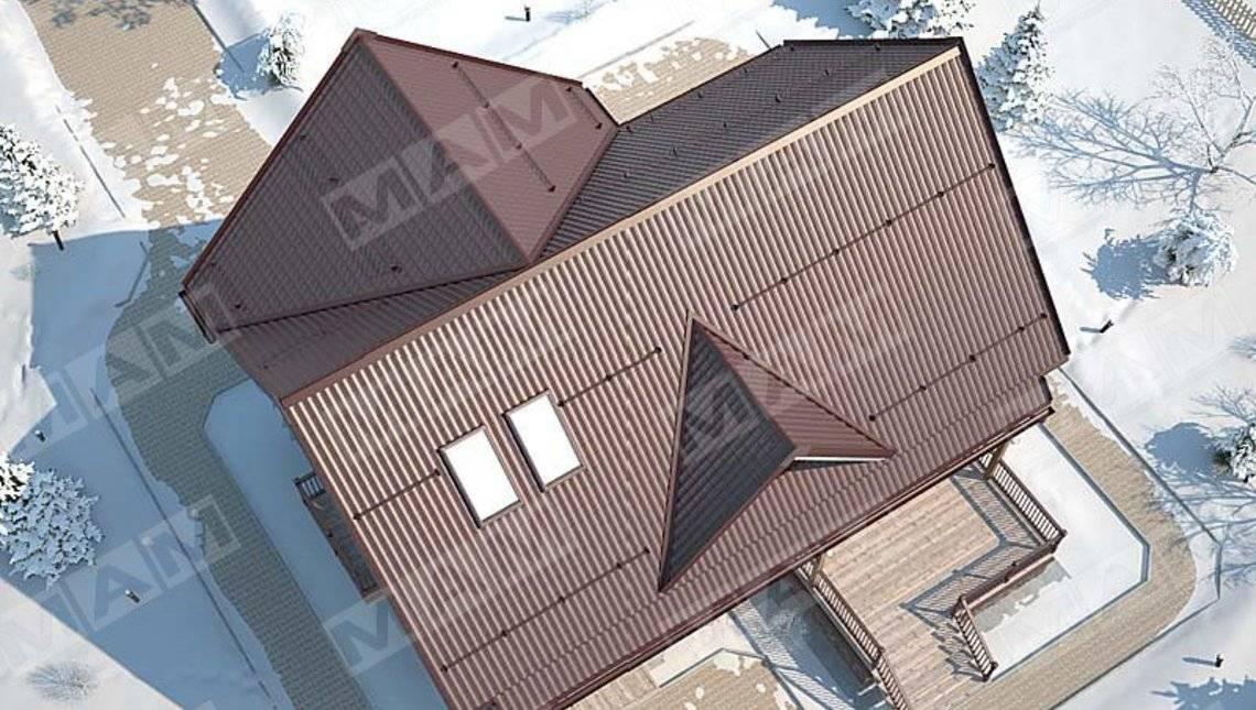 Проект класичного будинку 220 m²