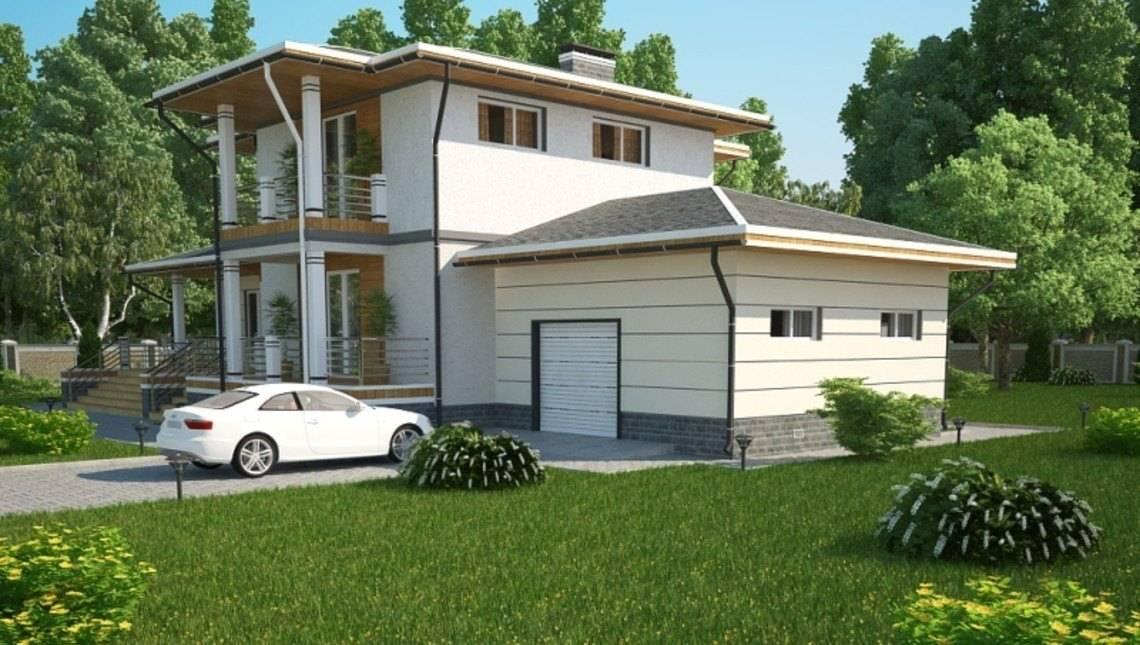Проект зручного сучасного будинку 300 m²