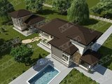 Проект незвичайного будинку площею 280 m²