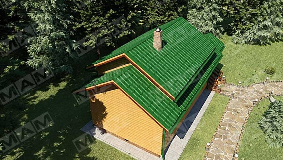 Проект зручної сауни з гостьовим будинком