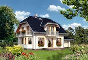 Приємний проект невеликої садиби 180 m²