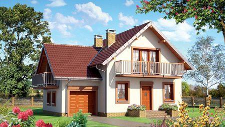 Вишуканий заміський будинок з площею 160 m²