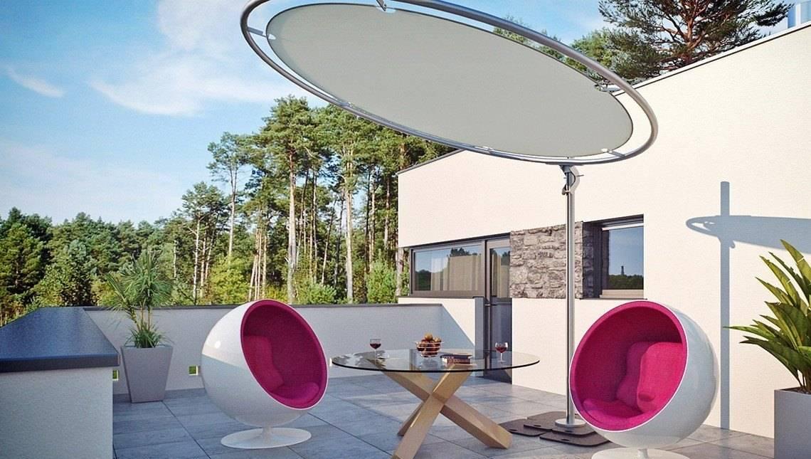 Проект особняка в стилі модерн