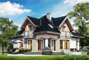Розкішний заміський будинок з площею 240 m²