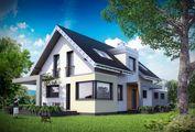 Дивовижний проект будинку з мансардою 8 на 18