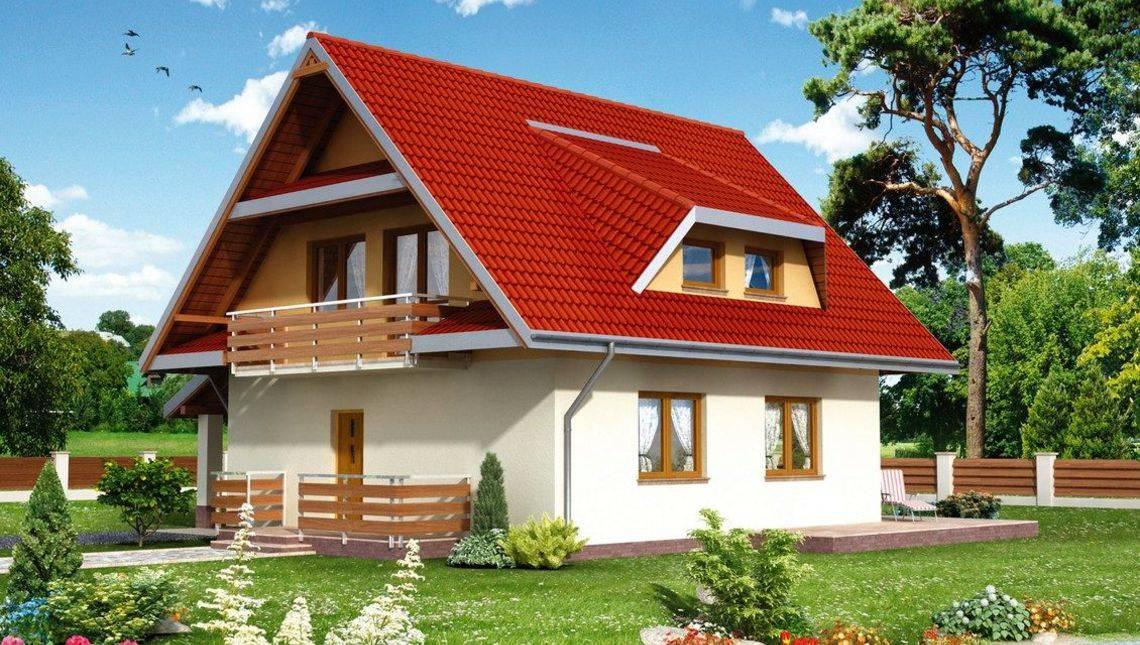 Розкішний заміський будинок з гарною верандою та балконом