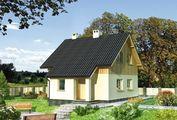 Проект невеличкого будинку з трьома спальнями