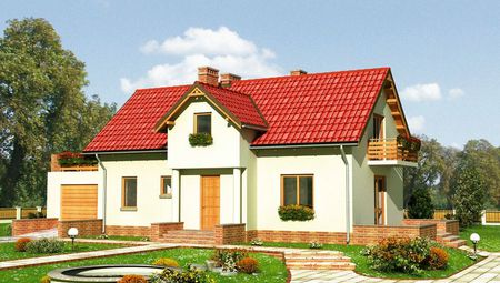 Великий заміський будинок з кількома просторими балконами та виходом в сад