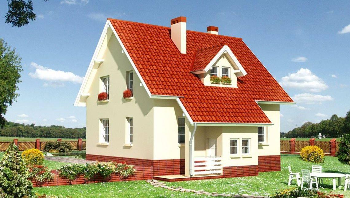 Маленький заміський будиночок з п'ятьма кімнатами