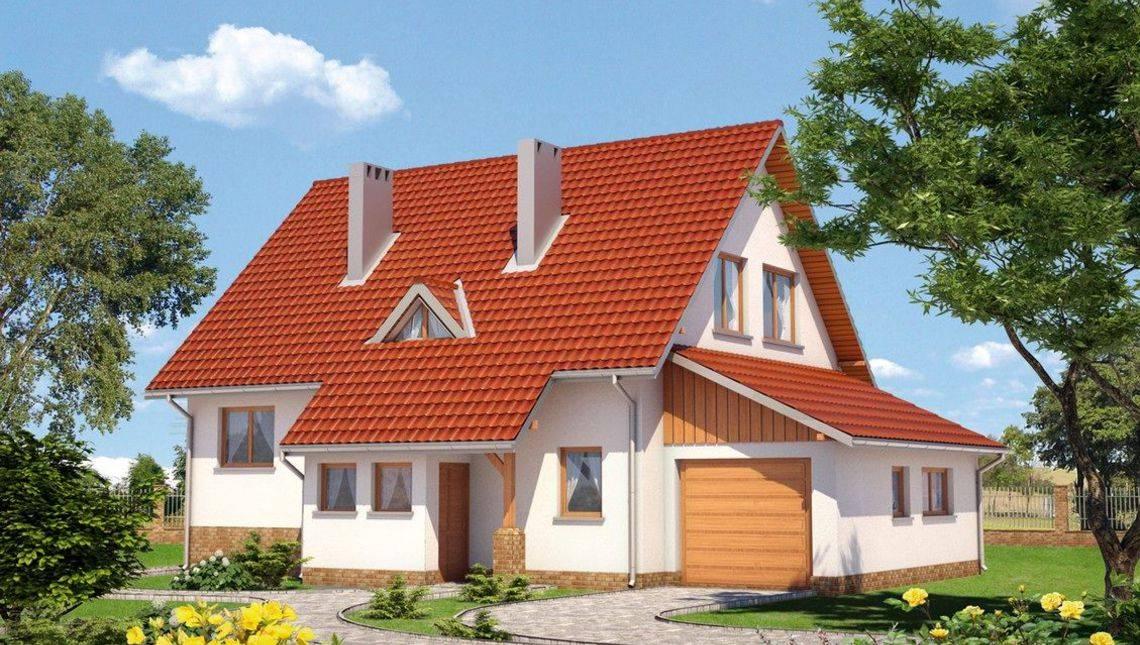 Проект невеликого будинку зі зручним плануванням