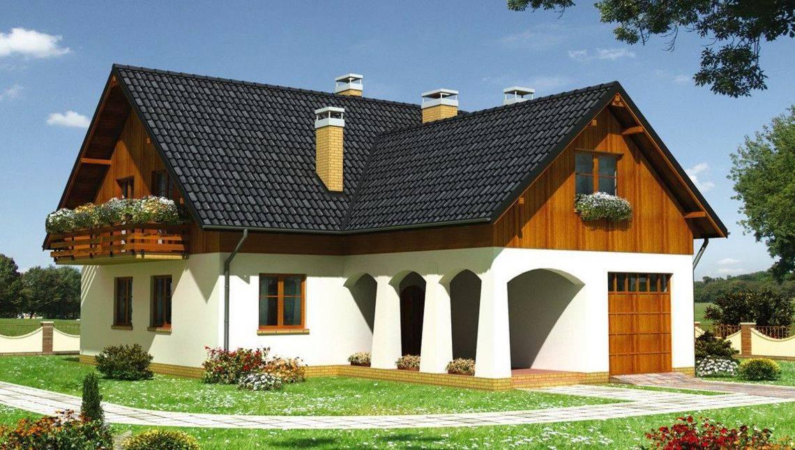 Житловий будинок на два поверхи з розкішними господарськими апартаментами