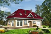 Комфортабельний житловий будинок сучасного планування