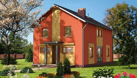 Яскравий житловий будинок площею 150 м2
