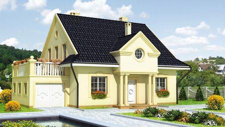 Комфортний особняк з просторою терасою на другому поверсі
