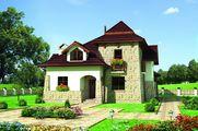 Привабливий житловий будинок - замок