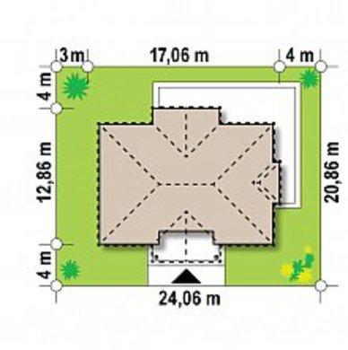 Проект представницького двоповерхового котеджу