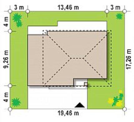 Проект невеликого компактного двоповерхового будиночка