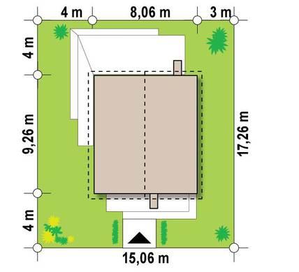 Проект двоповерхового котеджу 8 на 11