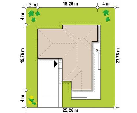 Просторий котедж в сучасному стилі барнхаус