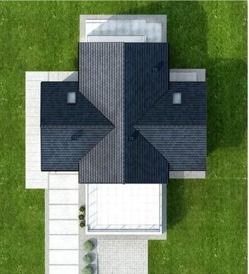 Двоповерховий будинок з розширеною зоною для відпочинку