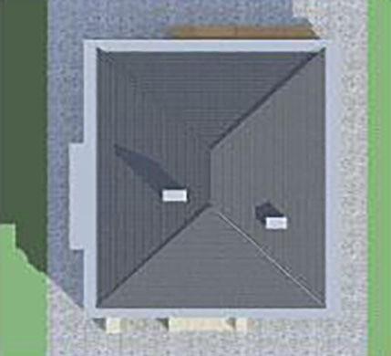 Представницький жилий будинок на два поверхи