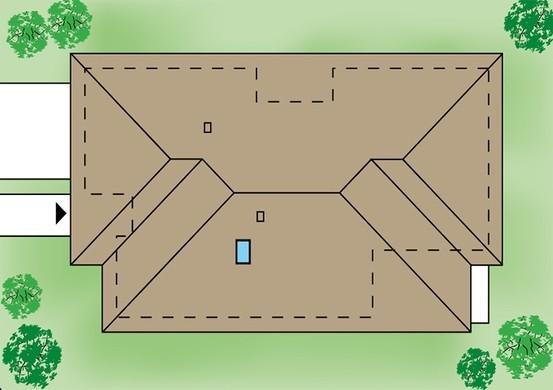 Унікальний одноповерховий котедж з просторою вітальнею