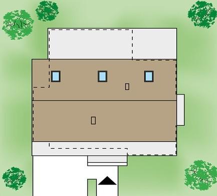 Житловий будинок з просторим гаражем на дві машини