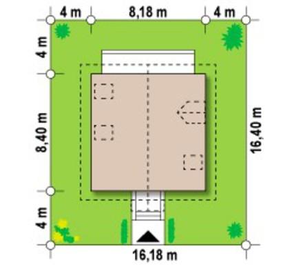 Проект маленького еко будинку