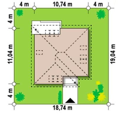 Ігровий будиночок - затишний, практичний, просторий