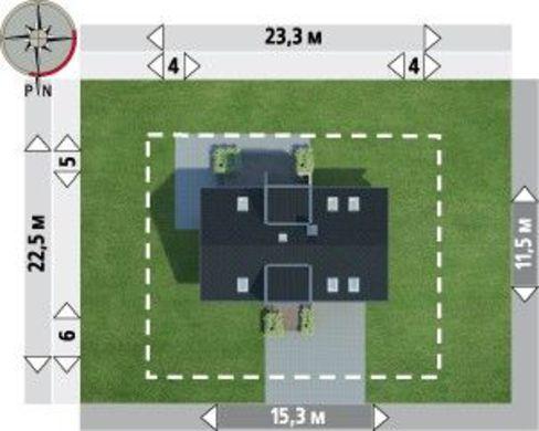 Великий заміський котедж з цікавим дизайном у стилі хай-тек