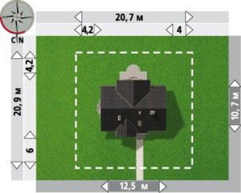Витончений будинок на 150 м2 житлової площі